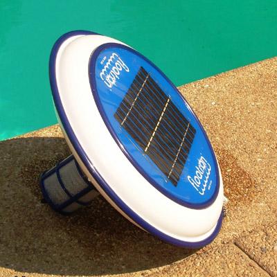 Ionizador para piscina solar floatron 150 m3 industrial for Ionizador piscina